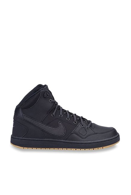 6a622c9144e Buy Nike Son Of Force Mid Winter Black Basketball Shoes for Men at ...