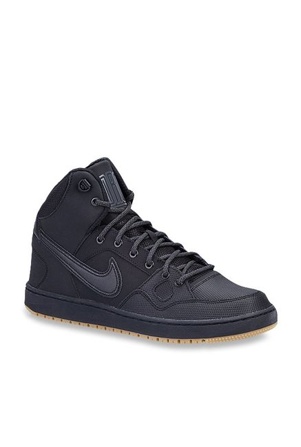 177e2431ff7 Buy Nike Son Of Force Mid Winter Black Basketball Shoes for Men at Best  Price   Tata CLiQ