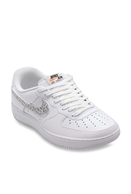 huge discount 2c39d 56b11 Buy Nike Air Force 1 07 LV8 JDI LNTC White Sneakers for Men at Best Price    Tata CLiQ