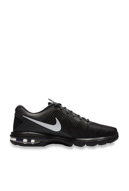 save off 3249f cbf51 Nike Air Max Full Ride TR 1.5 Black Training Shoes