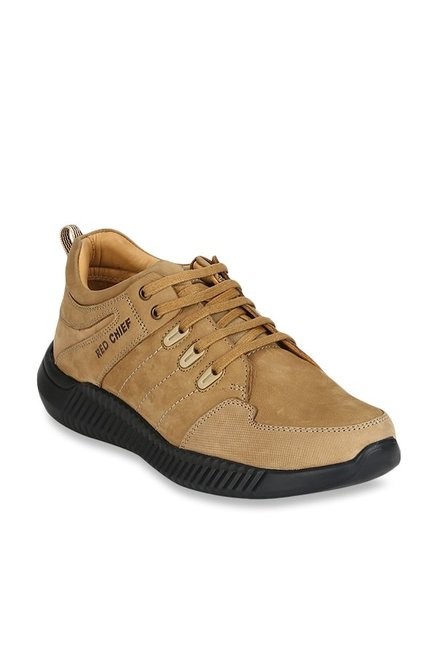 Red Chief Springer Camel Casual Shoes