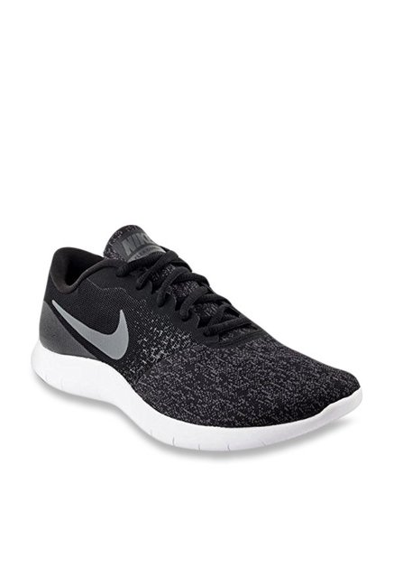 a8712c5b98f4 Buy Nike Flex Contact Black Running Shoes for Men at Best Price   Tata CLiQ