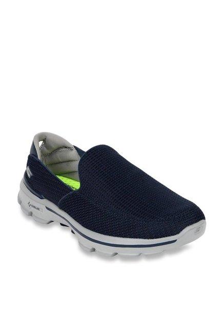 3690d56ea1e Buy Skechers Go Walk 3 Navy Running Shoes for Men at Best Price   Tata CLiQ
