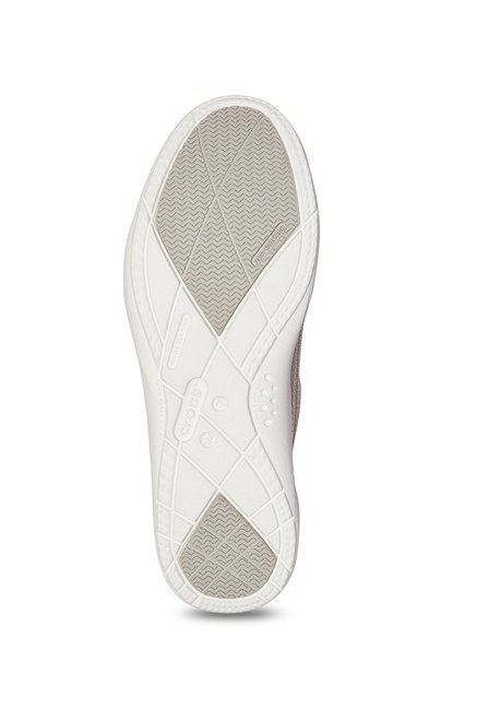 d9ae5e9425f Buy Crocs Walu Off-White Loafers for Women at Best Price   Tata CLiQ
