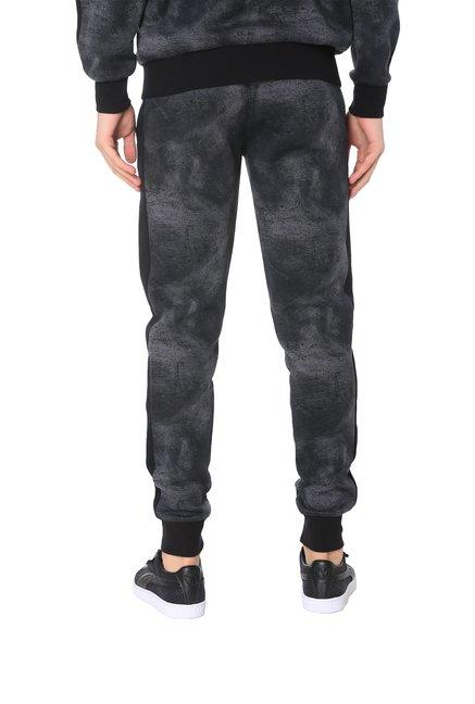 5eb1d16e0dbf Buy Puma Black Cotton Trackpants for Men s Online   Tata CLiQ
