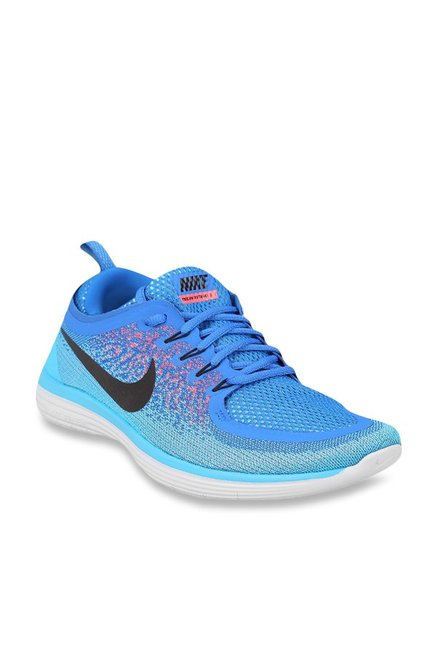 super popular 10ed5 97d14 Buy Nike Free RN Distance 2 Blue Running Shoes for Men at ...