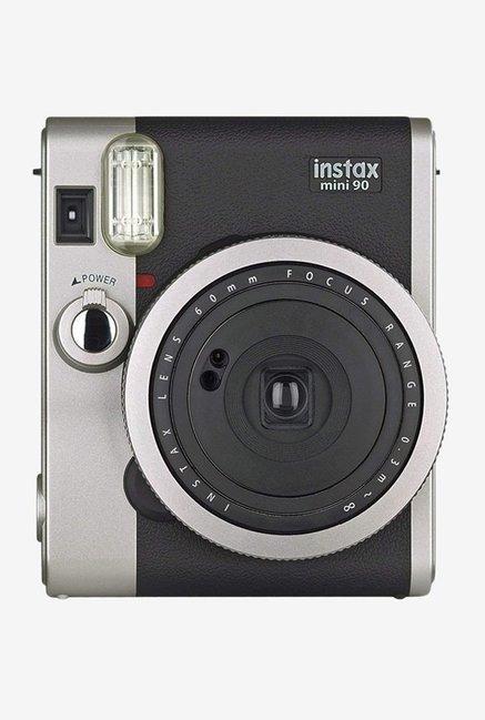 Fujifilm Instax Mini 90 Neo Classic Instant Camera (Silver/Black)