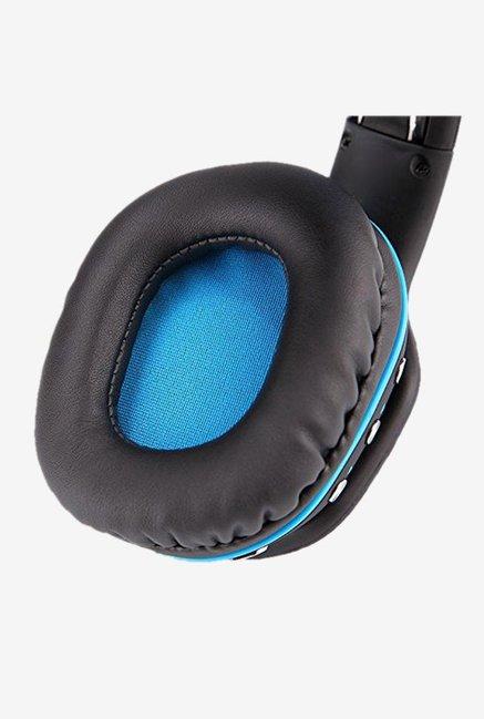 Cosmic Byte Aura B3506 V2 Over The Ear Bluetooth Headphone With Mic  BlueBlack
