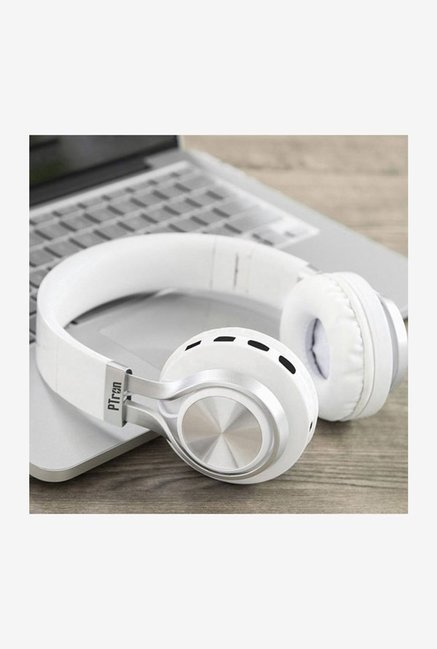 71275c39ff4 Buy PTron Kicks Over The Ear Bluetooth Stereo Headphones with Mic Online At  Best Price @ Tata CLiQ