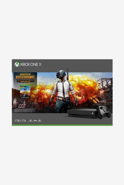 Microsoft Xbox One X1TB Console (Black)