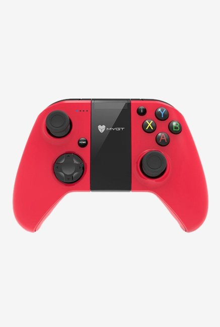 MYGT C04 Wireless Controller Gamepad for PC, PS3 and Android (Red/Black)