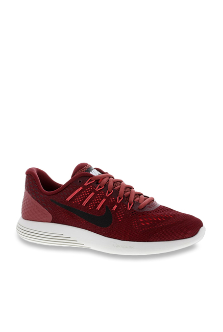 cc08dd2d577 Buy Nike Lunarglide 8 Night Maroon Running Shoes for Men at Best Price    Tata CLiQ