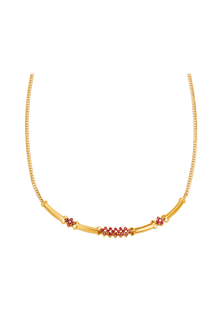 Buy Tanishq 18 kt Gold Necklace Online At Best Price @ Tata CLiQ