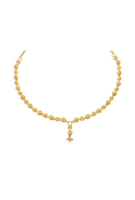 Buy Tanishq 22 kt Gold Necklace Online At Best Price @ Tata CLiQ
