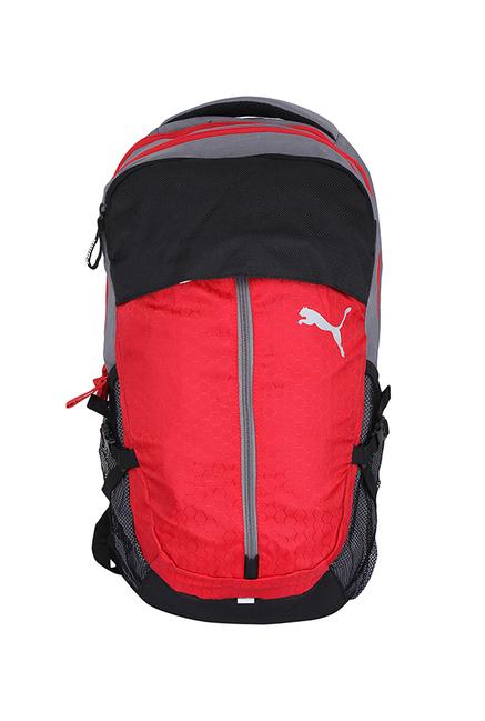 c9c9dbc55f7b Buy Puma Apex Red   Black Solid Laptop Backpack Online At Best Price   Tata  CLiQ