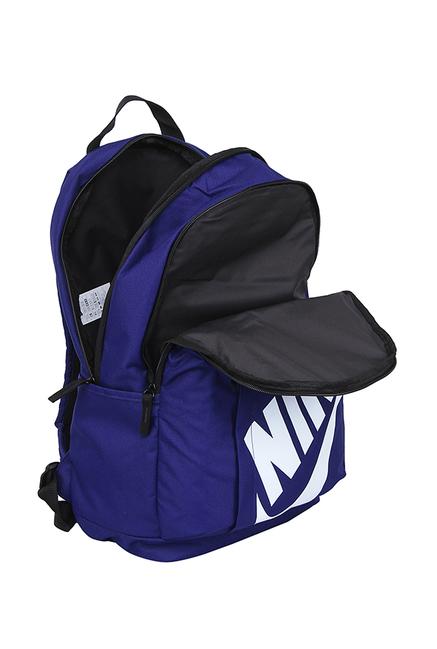 10ae967ebfd1 Buy Nike Elemental Blue Solid Backpack Online At Best Price   Tata CLiQ