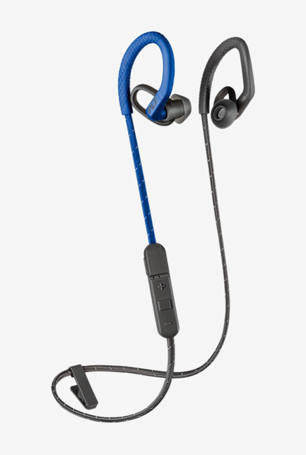 Plantronics Backbeat Fit 350 Bluetooth Earphone With Mic  Bluegrey