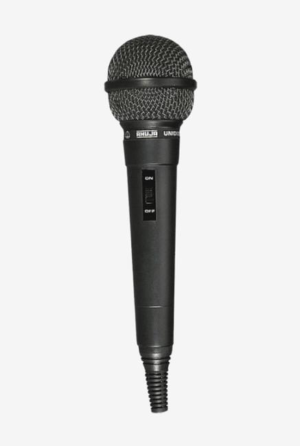 Ahuja AUD 54 Unidirectional Dynamic Microphone  Black