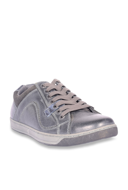 3a727efb0c5 Buy Steve Madden Chater Dark Grey Sneakers for Men at Best Price   Tata CLiQ