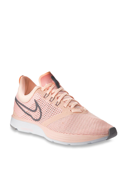 426d868ab8abd Buy Nike Zoom Strike Peach Running Shoes for Women at Best Price ...
