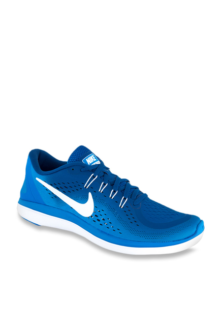 watch 188b1 cbba8 Buy Nike Flex 2017 RN Gym Blue Running Shoes for Men at Best Price   Tata  CLiQ