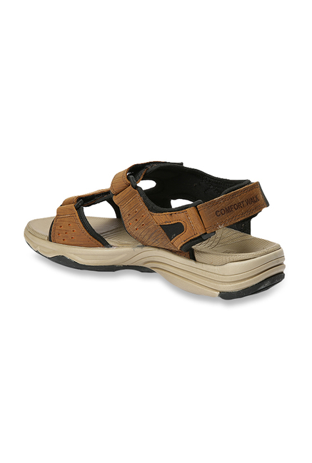 Buy Red Chief Tan Floater Sandals for