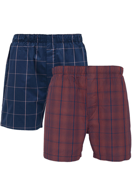 XYXX Multicolor Check Boxers   Pack of 2