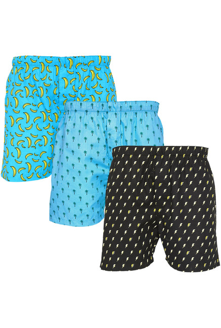 XYXX Multicolor Printed Boxers   Pack of 3