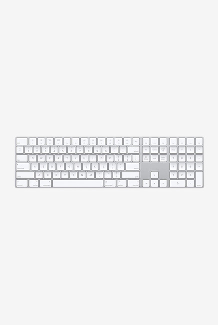 Apple Wireless Multi device Magic Wireless Keyboard with Numeric Keypad  MQ052HN/A, Silver Online Shopping Site in India   Upto 60% Off On Mobiles, El