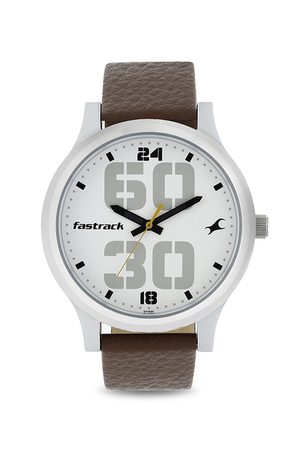 2503a1f9c Buy Fastrack 38051SL06 Bold Analog Watch for Men at Best Price   Tata CLiQ