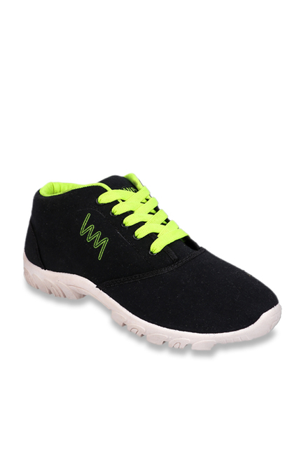 bdb5fad4d34d Buy Lawman Pg3 Canvas Black Casual Shoes for Men at Best Price   Tata CLiQ