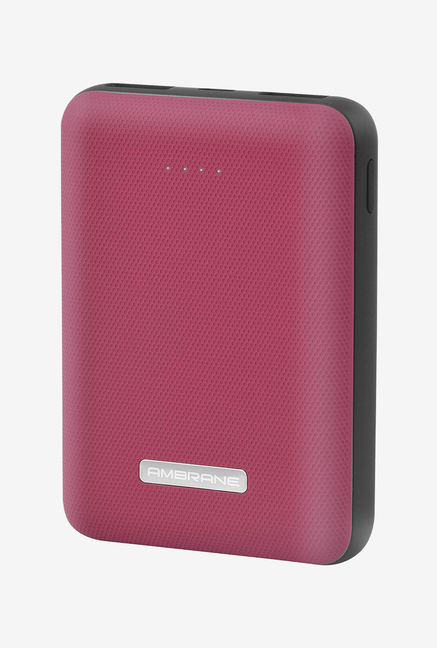 Ambrane PP 12 10000mAH Lithium Polymer Power Bank  Red/Black