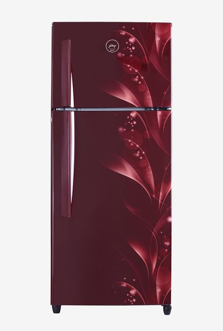 Godrej 290L 3 Star  2019  Frost Free Double Door Refrigerator  Silky Wine, RT EON 290 PC 3.4