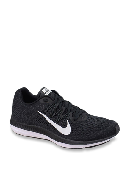 390f50a81132 Buy Nike Zoom Winflo Black Running Shoes for Men at Best Price ...