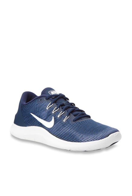 bf187327f510 Buy Nike Flex 2018 R Navy Running Shoes for Men at Best Price ...