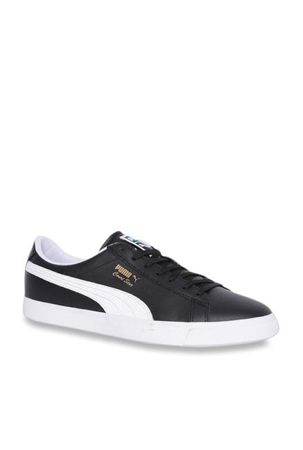 sale retailer 21b52 591c8 Puma Court Star Vulc FS Black Sneakers