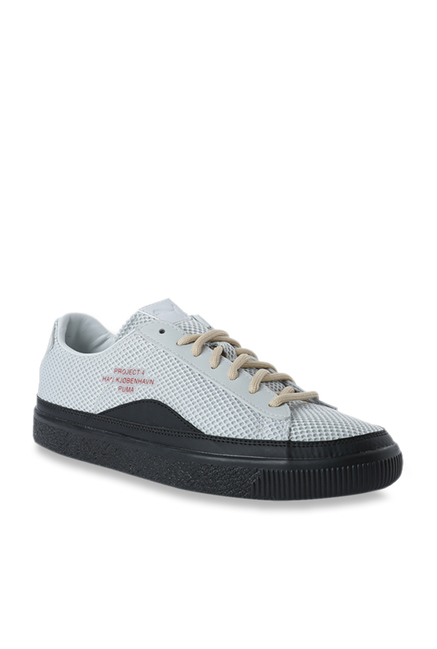 new style a81cb 47694 Buy Puma Clyde Han Glacier Grey Sneakers for Men at Best ...