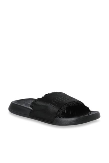 3b5f3702ae Buy Puma Popcat Silk Black Casual Sandals for Women at Best Price ...