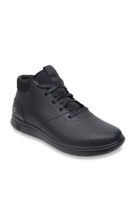 41db511708a Buy Skechers Black Ankle High Sneakers for Men at Best Price   Tata CLiQ