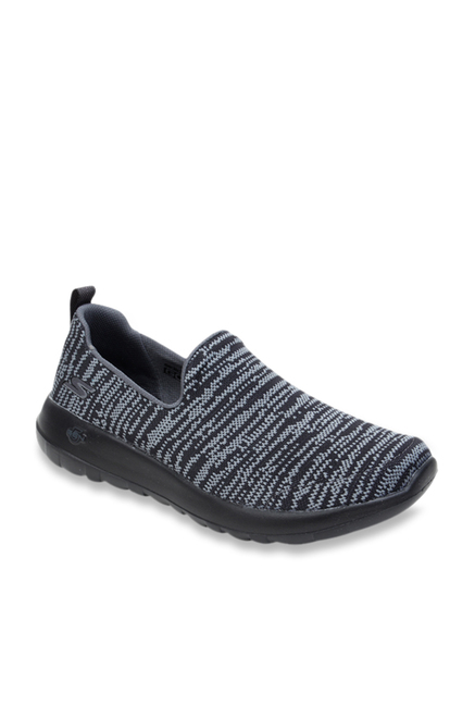 61ca35ebe9b Buy Skechers Grey   Black Casual Loafers for Men at Best Price   Tata CLiQ