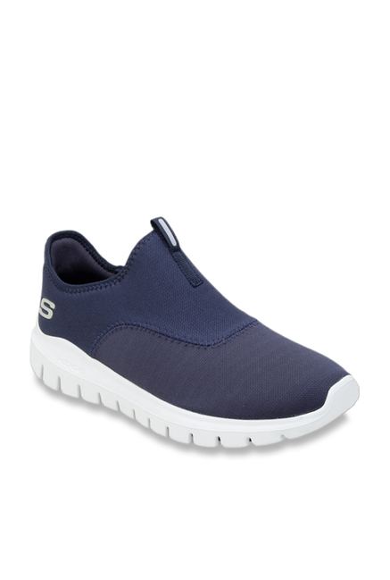 9600143a4a5 Buy Skechers Navy Casual Slip-Ons for Men at Best Price   Tata CLiQ
