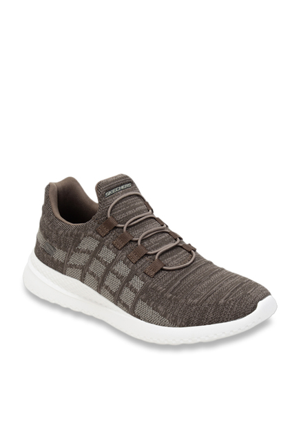 6934a32a542 Buy Skechers Brown Running Shoes for Men at Best Price   Tata CLiQ