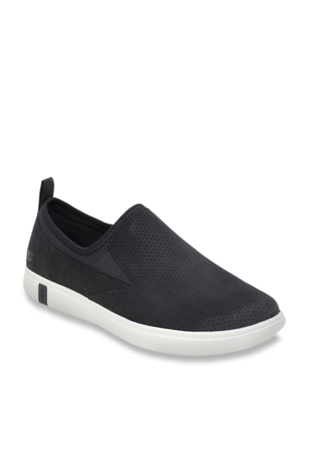 5cfad5cc69d Buy Skechers Charcoal Grey Casual Slip-Ons for Men at Best Price ...