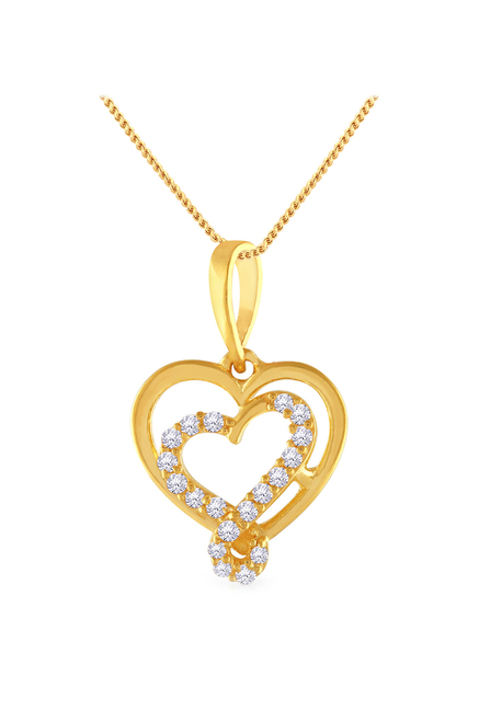 Buy Malabar Gold and Diamonds 22 kt Gold Pendant Online At Best
