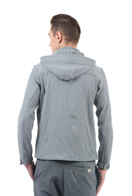 e176cf9d02f7d Buy U.S. Polo Assn. Grey Regular Fit Solid Hoodie for Men Online ...