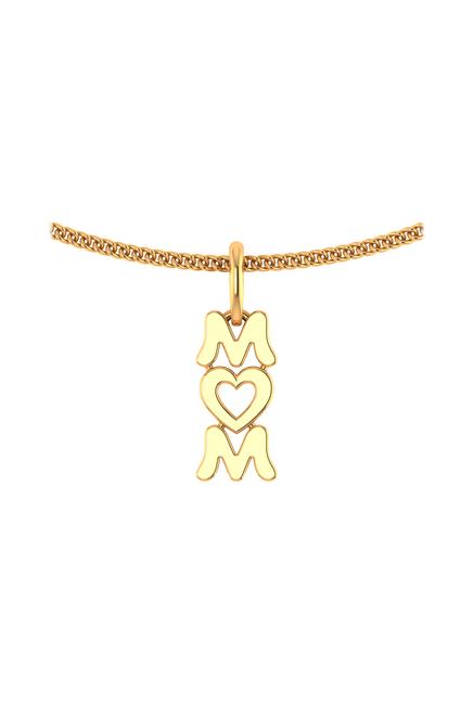 P.N.Gadgil Jewellers Mom 22 kt Gold Pendant