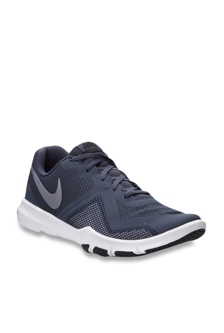 077546591fe2d Buy Nike Flex Control II Navy Training Shoes for Men at Best Price   Tata  CLiQ