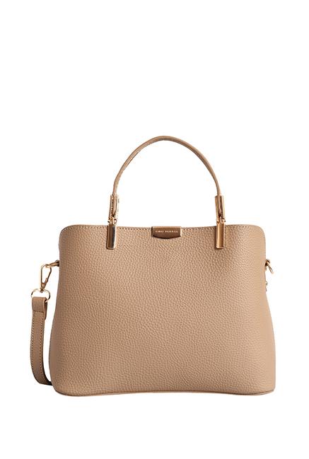 9c7d81f9d4e Buy Lino Perros Beige Solid Handbag For Women At Best Price   Tata CLiQ