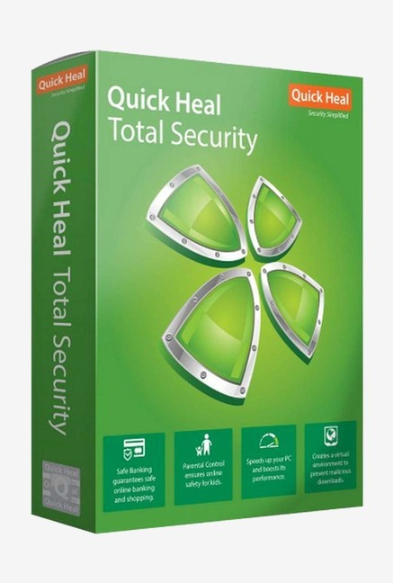 Quick Heal Total Security Latest Version (2 PC/3 Year)
