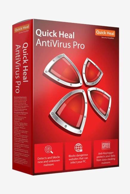 Quick Heal Antivirus Pro Latest Version (2 PC/3 Year)